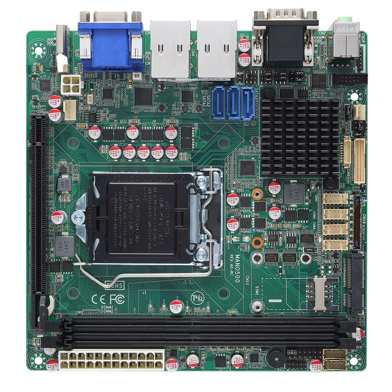 Bo mạch máy tính công nghiệp Mini-ITX Axiomtek MANO500