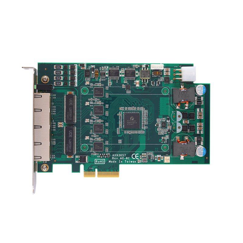 PCI Express 2/4 cổng GigE Frame Grabber Axiomtek AX92320