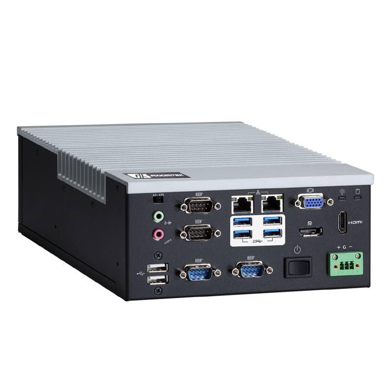 Máy tính công nghiệp không quạt Axiomtek eBOX640-500-FL