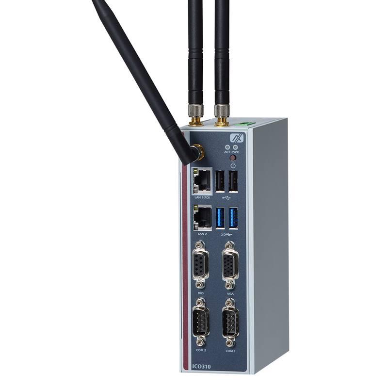 Máy tính nhúng không quạt dạng DIN Axiomtek ICO310