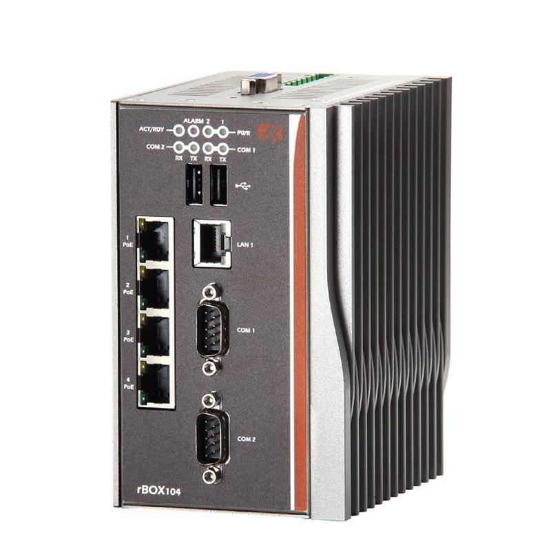 Máy tính công nghiệp không quạt Axiomtek rBOX204