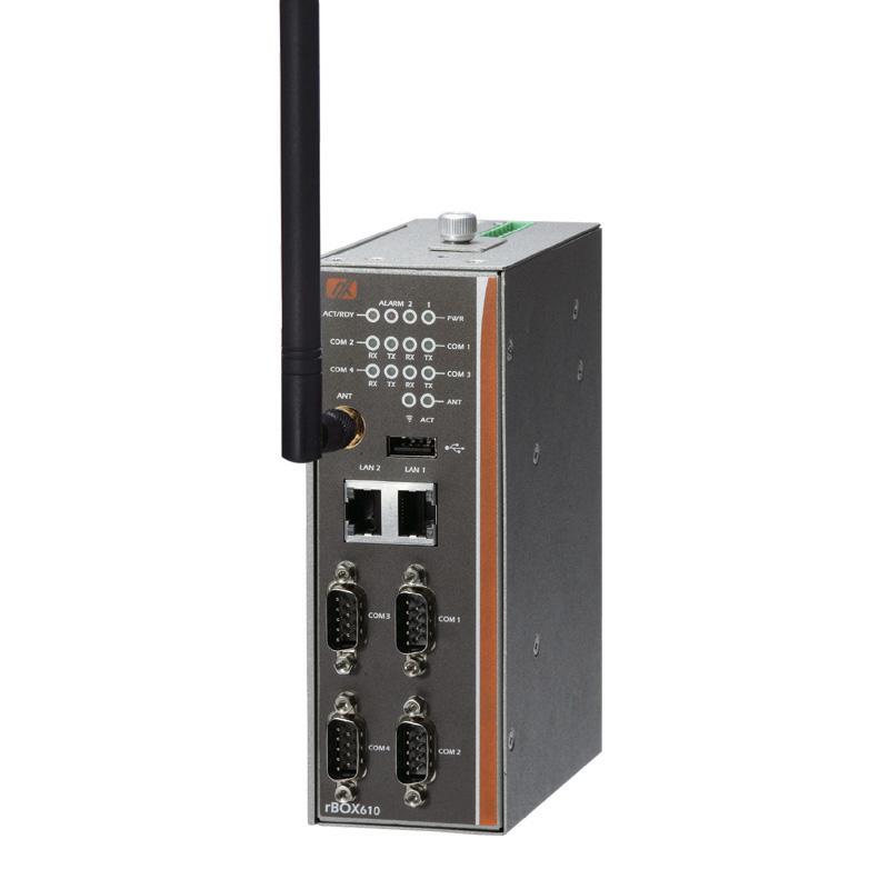 Máy tính công nghiệp không quạt Axiomtek rBOX610