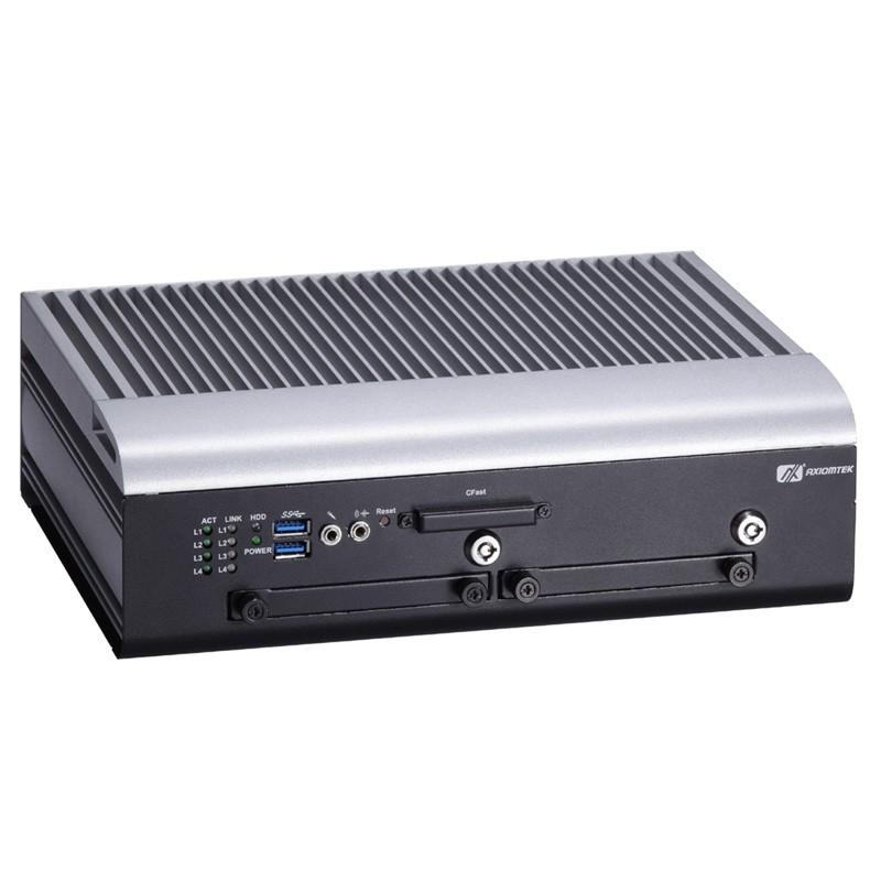 Máy tính công nghiệp không quạt cho phương tiện di động (Vehicle PC) Axiomtek tBOX312-870-FL