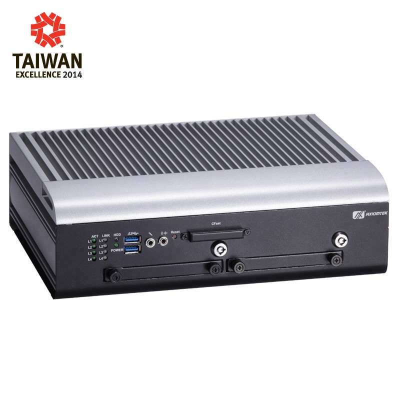 Máy tính công nghiệp không quạt Axiomtek tBOX321-870-FL