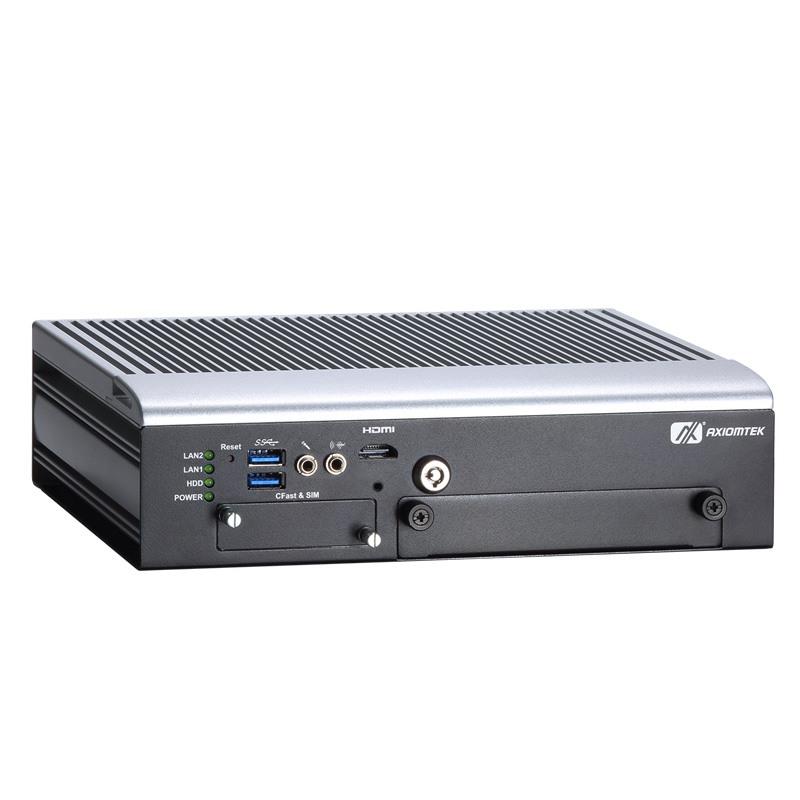 Máy tính công nghiệp không quạt Axiomtek tBOX322-882-FL