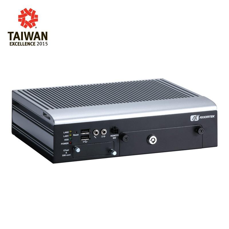 Máy tính công nghiệp không quạt Axiomtek tBOX323-835-FL