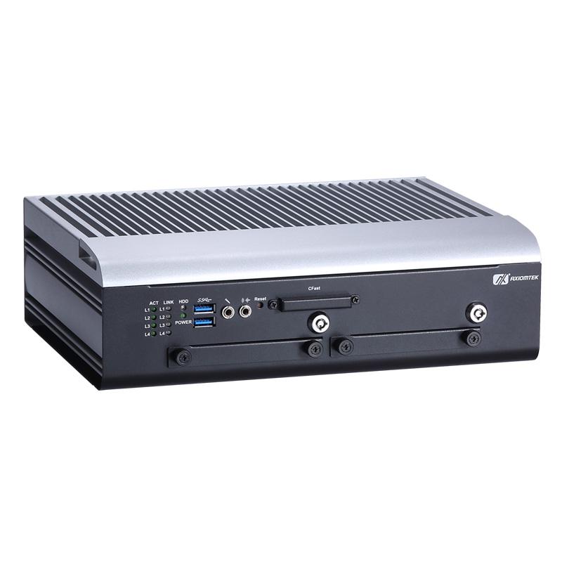Máy tính công nghiệp không quạt Axiomtek tBOX330-870-FL