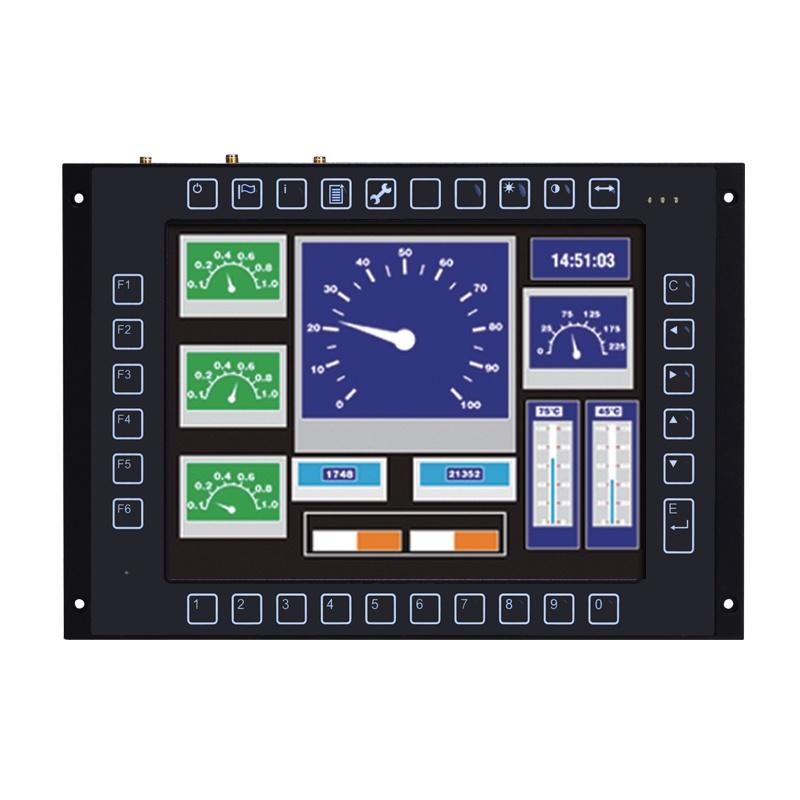 Máy tính công nghiệp màn hình cảm ứng 10.4 inch (Railway PC) Axiomtek GOT710-837