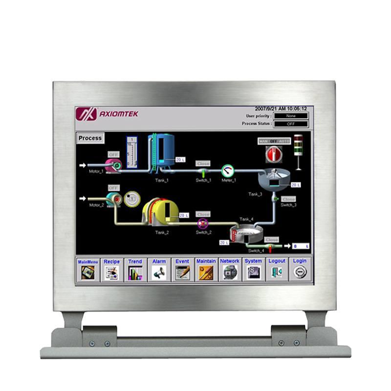 Máy tính công nghiệp màn hình cảm ứng 12.1 inch Axiomtek GOT812LR-834