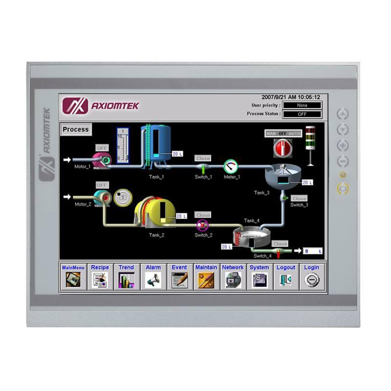 Máy tính công nghiệp màn hình cảm ứng 12.1 inch Axiomtek P1127E-871