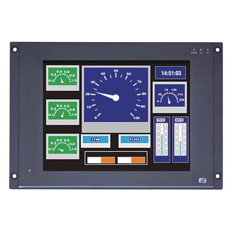 Máy tính công nghiệp màn hình cảm ứng 12.1 inch (Railway PC) Axiomtek GOT712-837