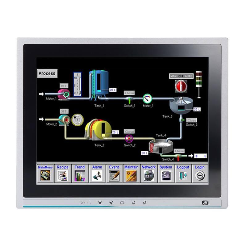Máy tính công nghiệp màn hình cảm ứng 15 inch Axiomtek P1157E-500