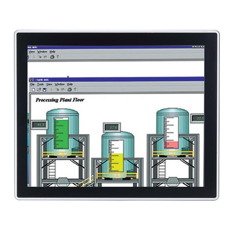 Máy tính công nghiệp màn hình cảm ứng 17 inch Axiomtek GOT317-502-FR