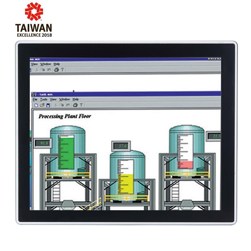 Máy tính công nghiệp màn hình cảm ứng 17 inch Axiomtek GOT3177T-311-FR