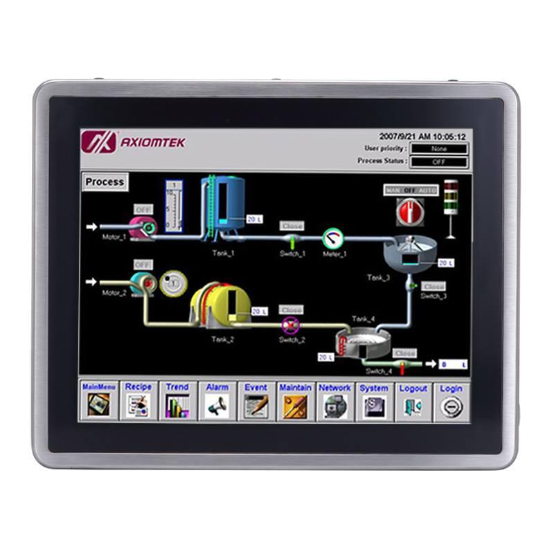 Máy tính công nghiệp màn hình cảm ứng 17 inch Axiomtek GOT817-834