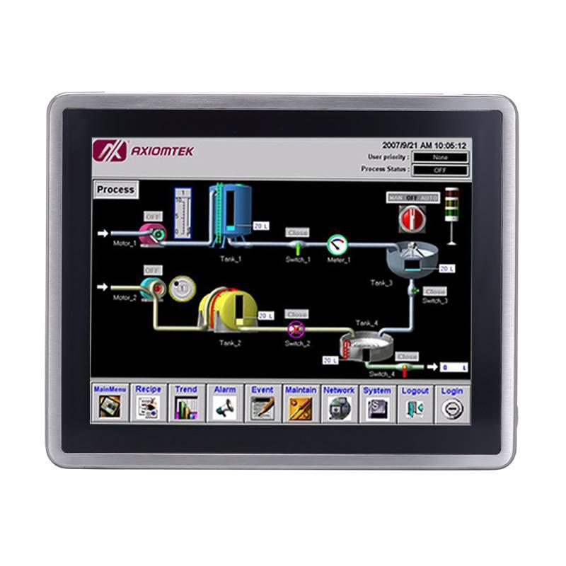 Máy tính công nghiệp màn hình cảm ứng 17 inch Axiomtek GOT817L-511