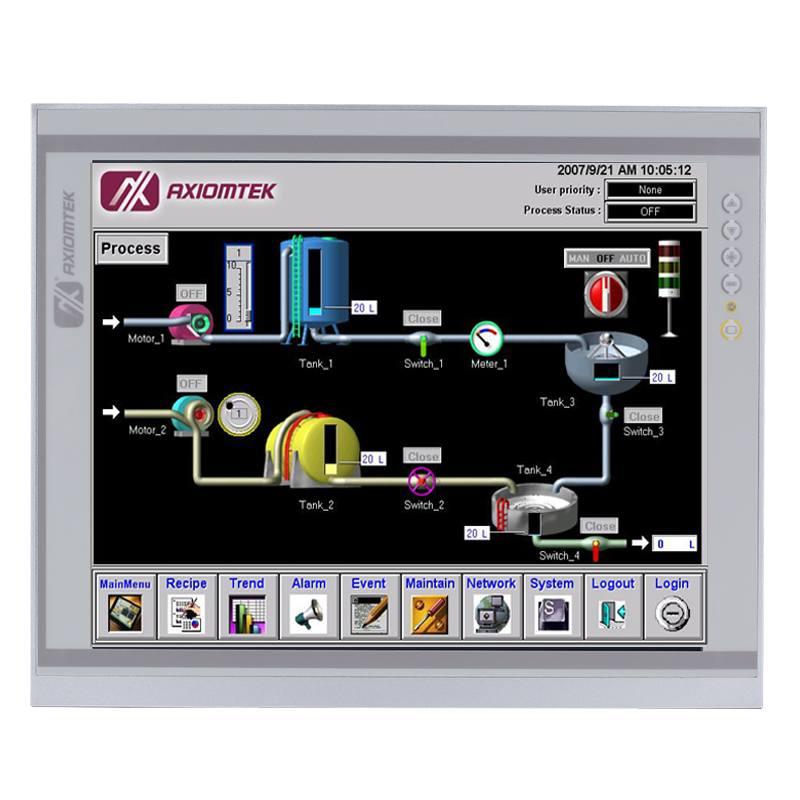 Máy tính công nghiệp màn hình cảm ứng 17 inch Axiomtek P1177E-842