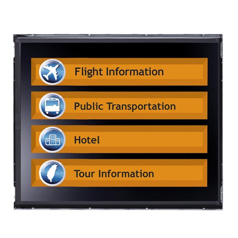 Máy tính công nghiệp màn hình cảm ứng 17 inch dạng Open Frame Axiomtek FDK172-834