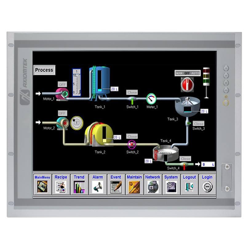 Máy tính công nghiệp màn hình cảm ứng 19 inch Axiomtek P1197E-500
